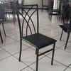 Cadeiras de Ferro pretas