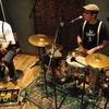 Duo Balanço gravando em studio