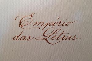Empório das Letras - Caligrafia e arte